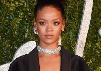 Rihanna attends British Fashion Awards December 1, 2014 rihanna-fenty.com