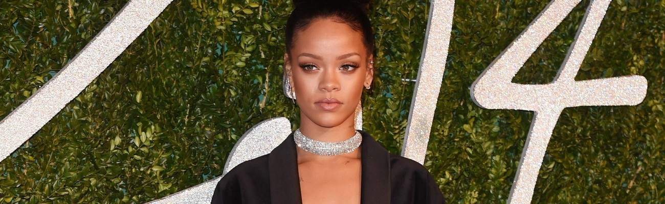 Rihanna attends British Fashion Awards