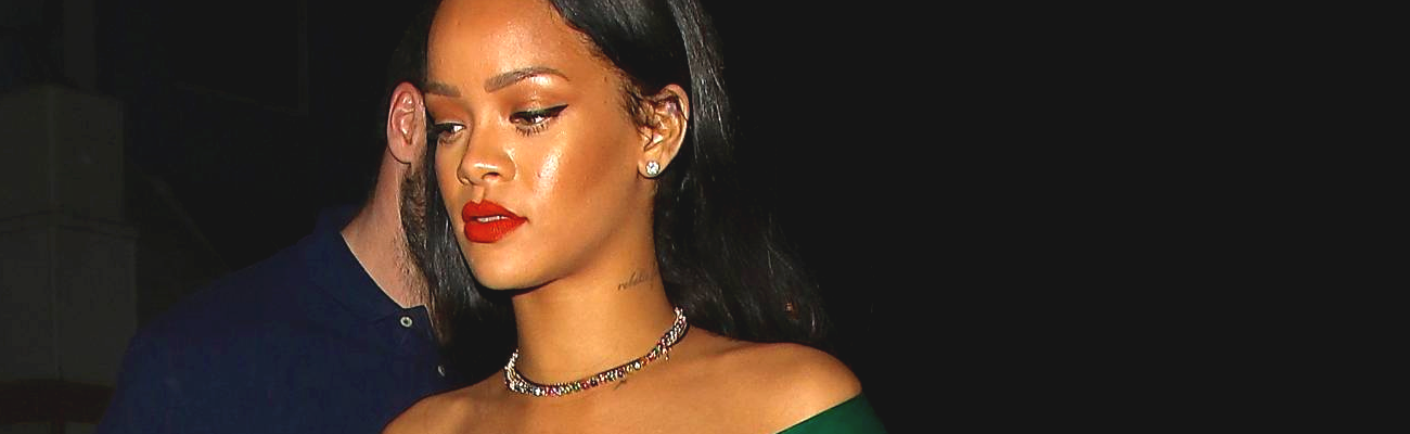 Rihanna celebrates Mother's Day in Los Angeles