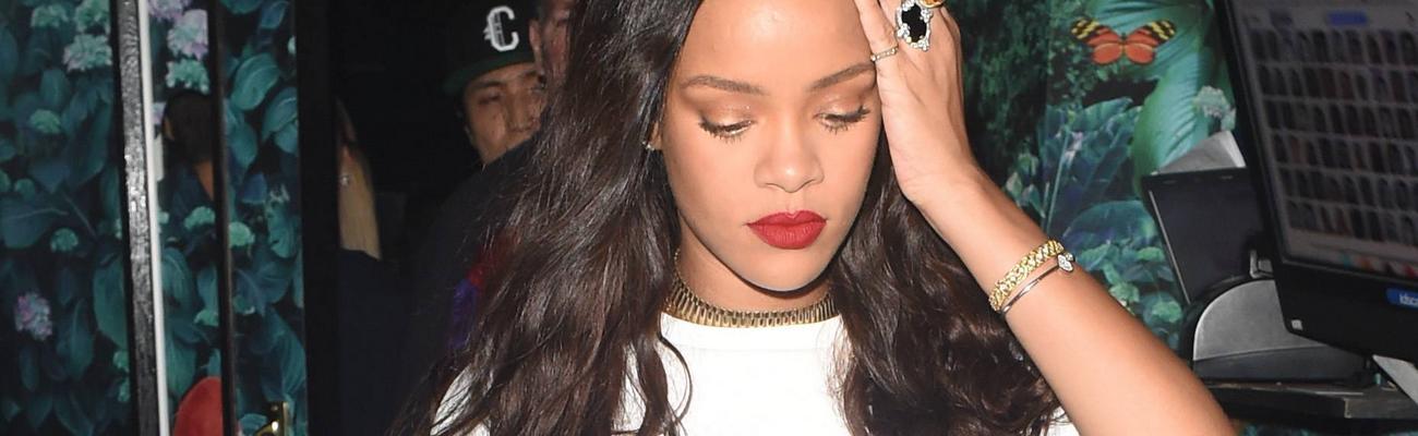 Rihanna at Drama nightclub