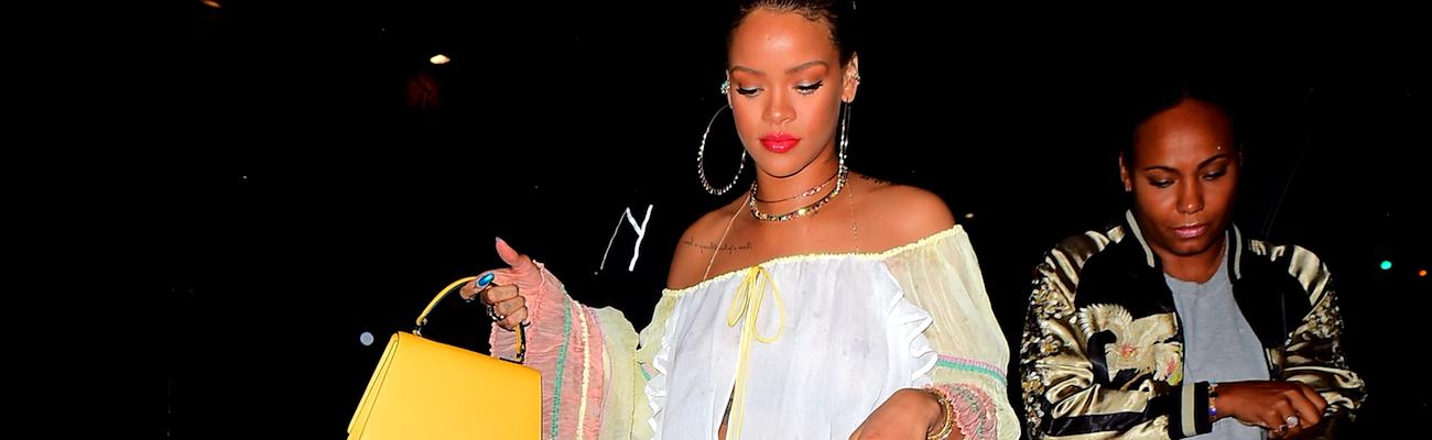 Rihanna goes partying in NY on May 30