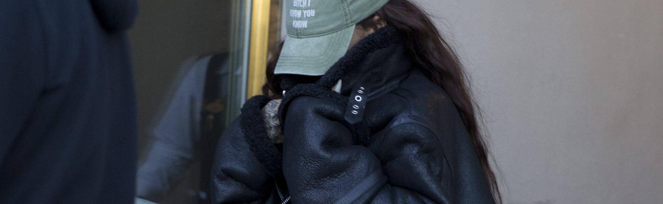 Rihanna on her way to Denmark