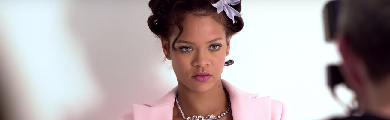 Behind the scenes of Rihanna's CR Fashion Book photoshoot
