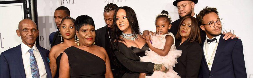 Rihanna Online Family