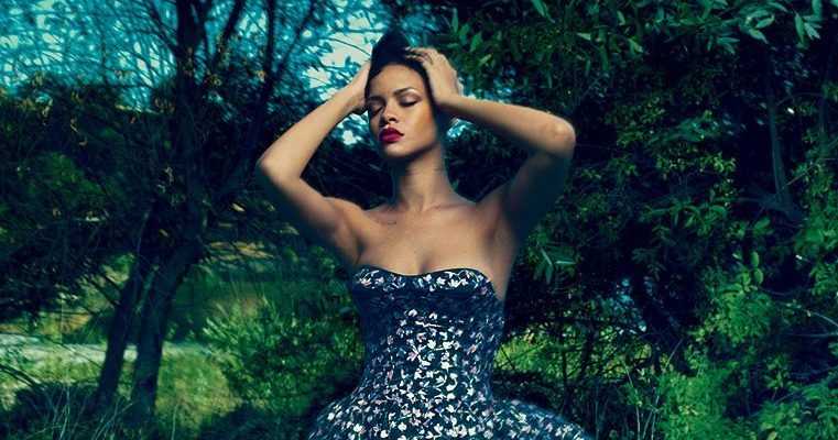Photoshoot & cover story: Rihanna for Vogue magazine