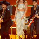 Rihanna at 2013 Grammy Awards Performance Bruno Mars