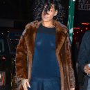 Rihanna at Marquee nightclub in NYC on December 18, 2013