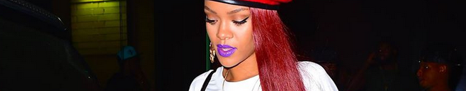Rihanna goes bowling in NYC