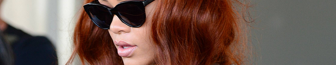 Rihanna spotted at Miami airport