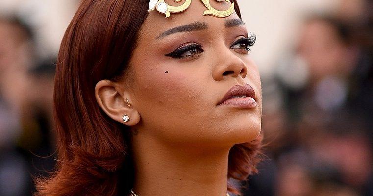 Rihanna attends Met Ball