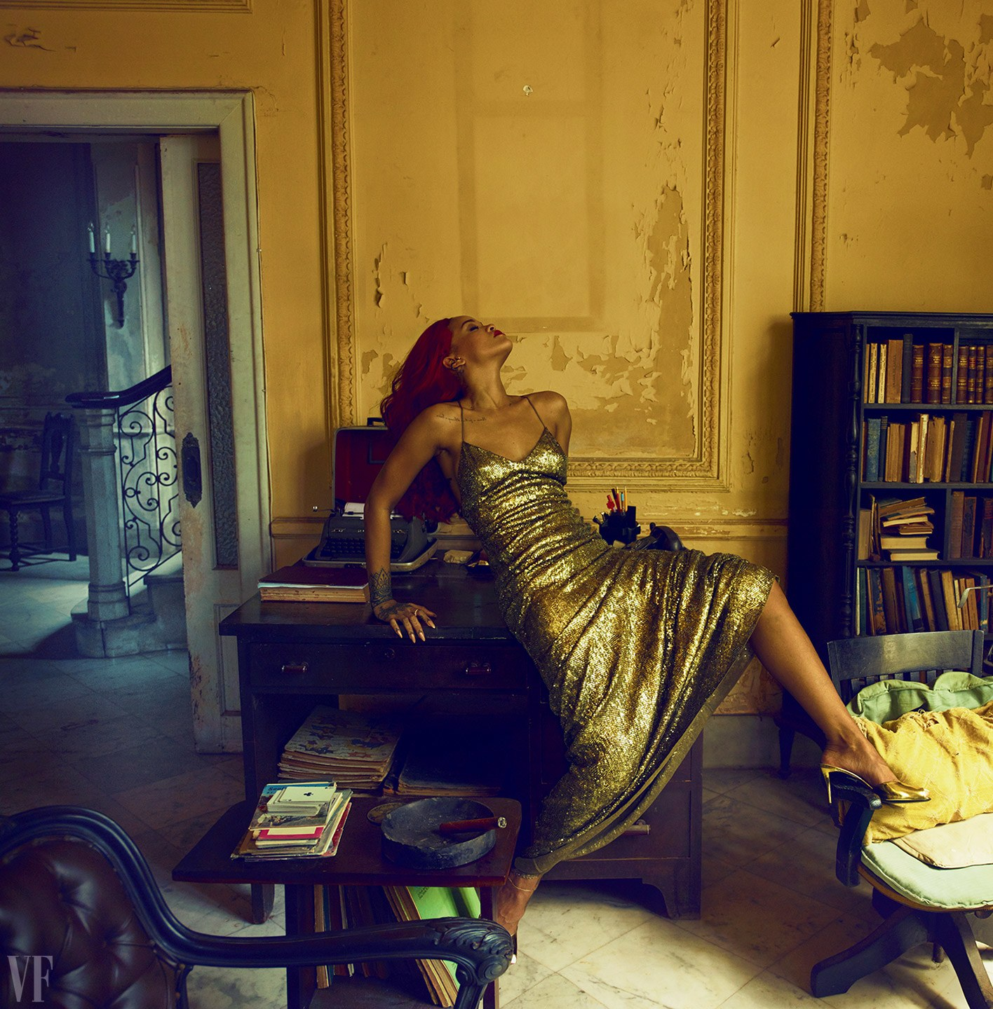Rihanna for Vanity Fair 2015 Cuba