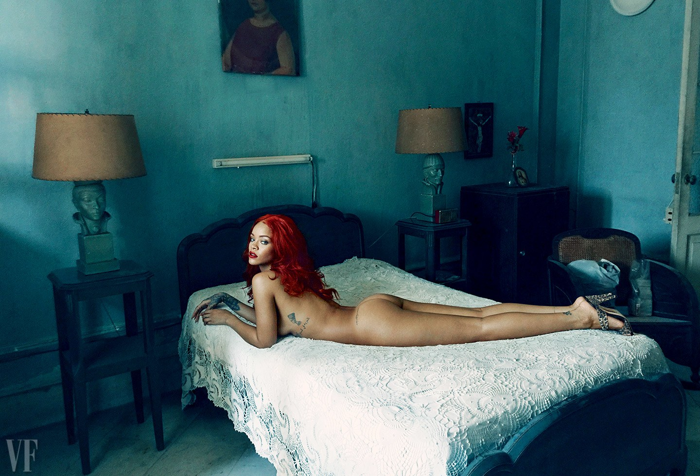 Rihanna for Vanity Fair 2015 Photoshoot
