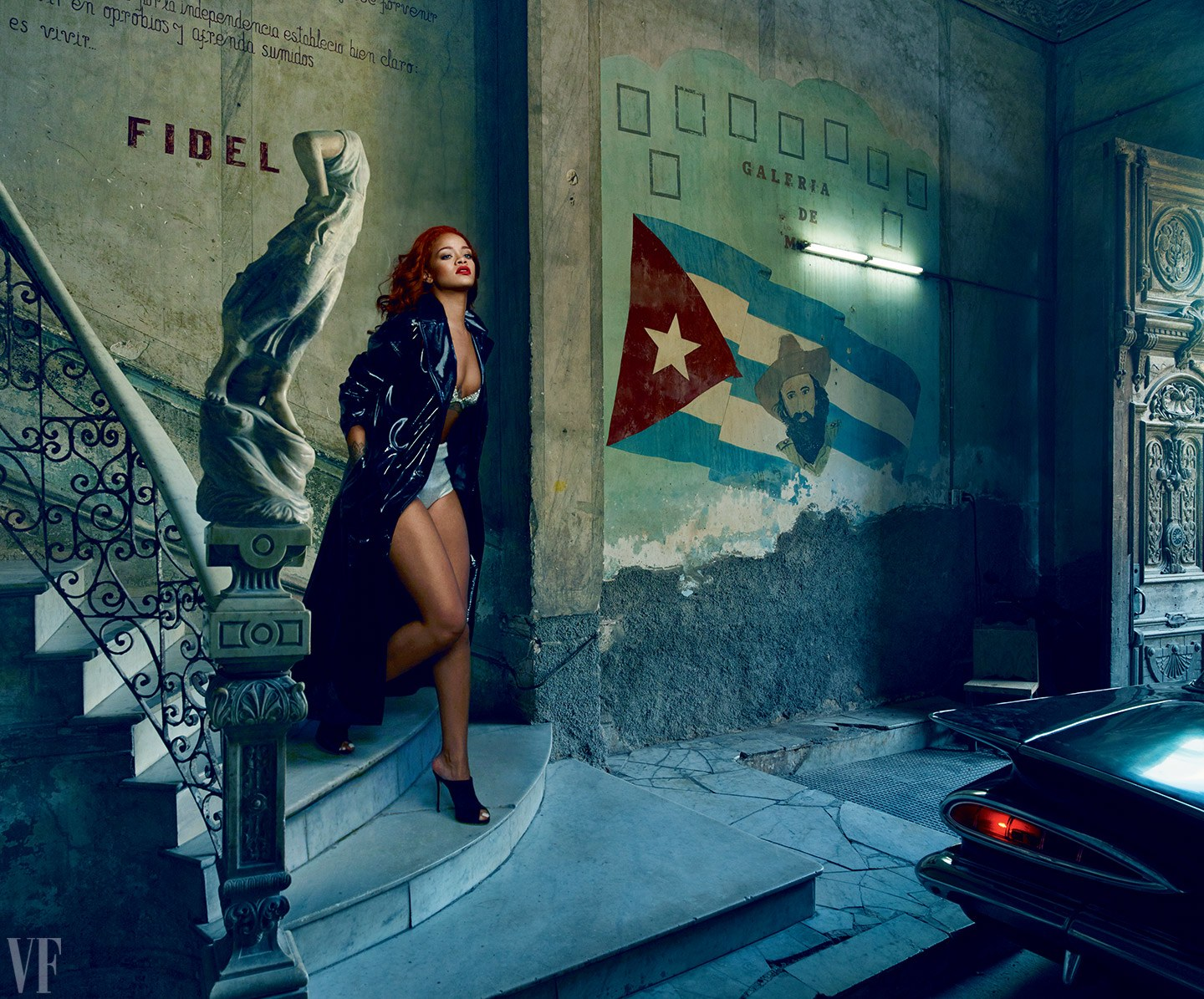 Rihanna for Vanity Fair 2015 Pictures