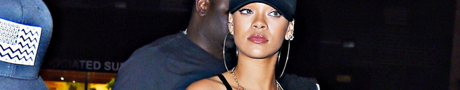Rihanna spotted in NYC