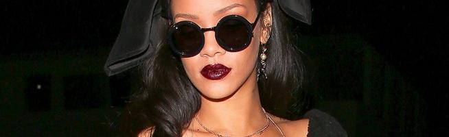 Rihanna throws a Christmas party at Giorgio Baldi