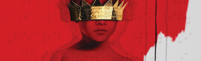 ANTI is certified platinum by RIAA