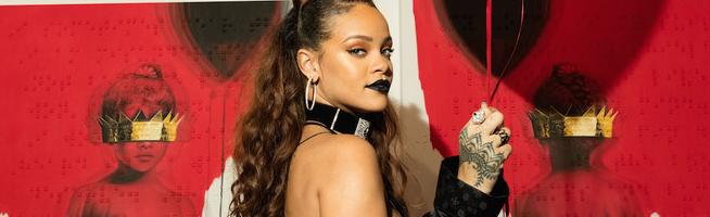 Rihanna finishes ANTI