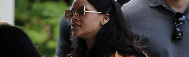Rihanna enjoys her time off in Miami