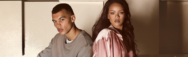 Rihanna debuts The Fur Slide for PUMA