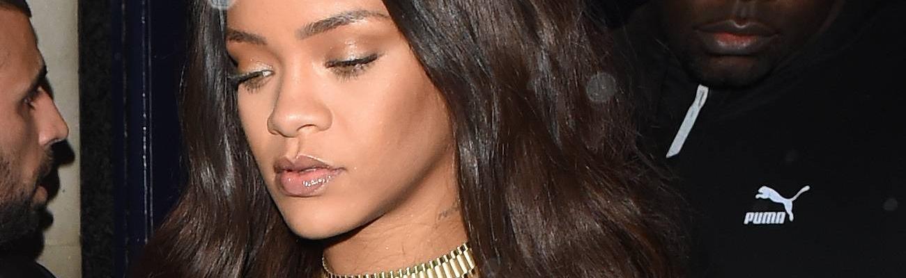 Rihanna and Drake party at Tramp nightclub