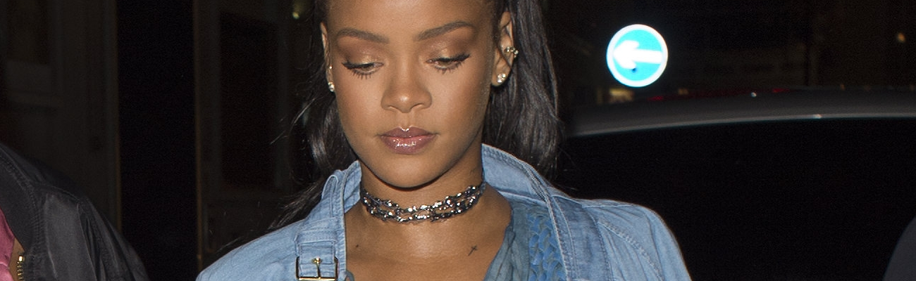 Rihanna spotted at Tape nightclub in London