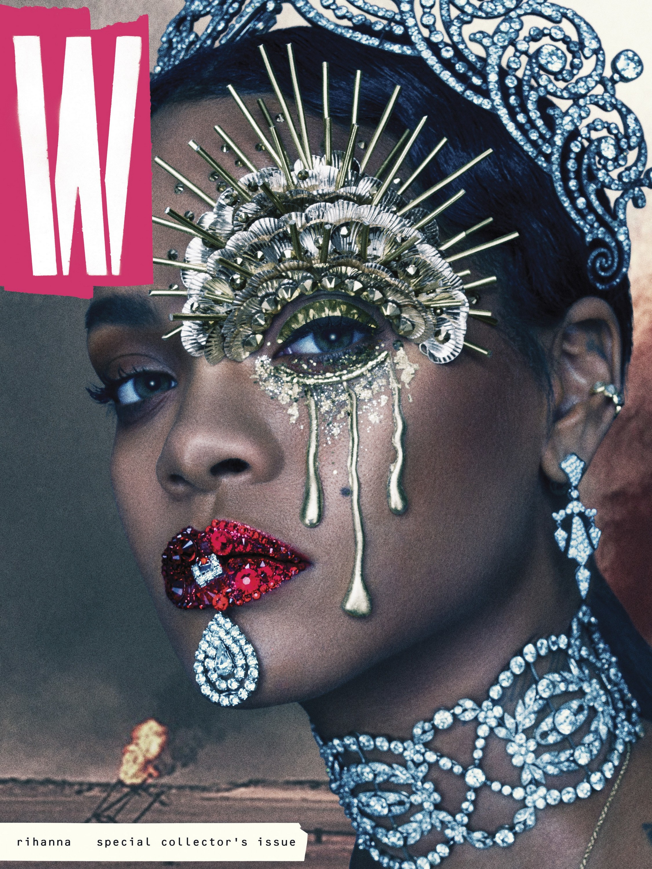 Rihanna for W Magazine September 2016 Cover