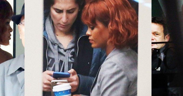 Rihanna films Bates Motel in Vancouver