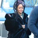 Rihanna on the set of Ocean's Eight in New York on November 23, 2016
