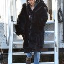 Rihanna on the set of Ocean's Eight in New York on November 23, 2016 Dreadlocks