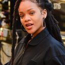 Rihanna films Ocean's Eight in New York on November 8, 2016