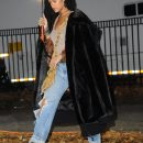 Rihanna steps out on the set of Ocean's Eight on November 9, 2016