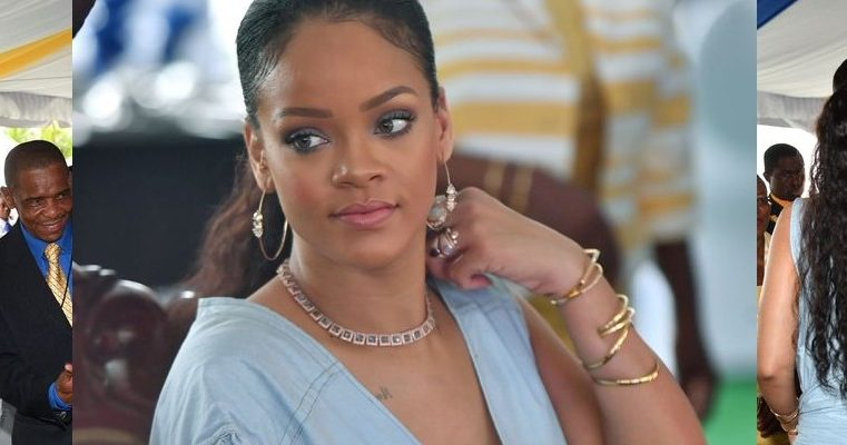 Rihanna meets Prince Harry in Barbados