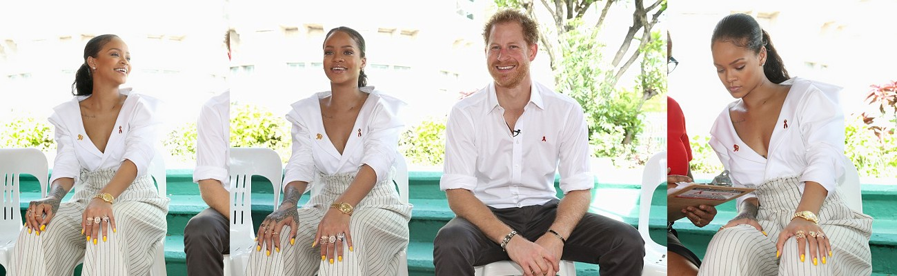 Rihanna takes part in Man Aware event in Barbados