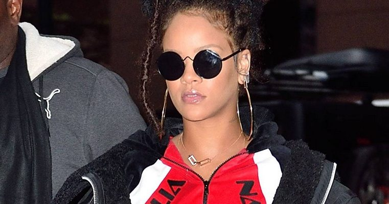 Rihanna spotted out and about in New York
