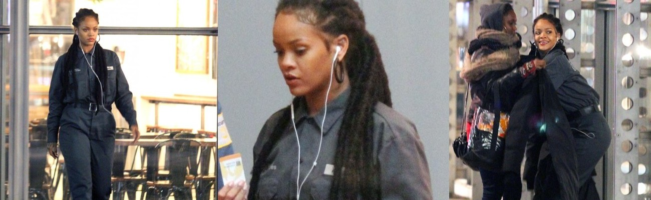 Rihanna continues filming Ocean's Eight