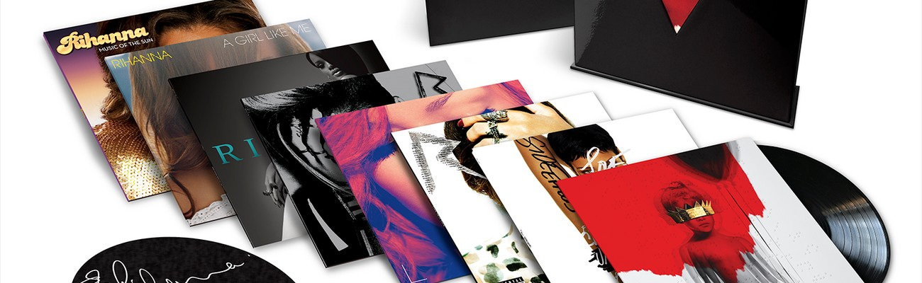 Rihanna's Vinyl Box Set available now