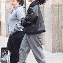 Rihanna left New York on January 25, 2017 Streets