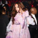 Rihanna at Grammy Awards 2017 after party at 1OAK