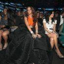 Rihanna attends 2017 Grammy Awards audience