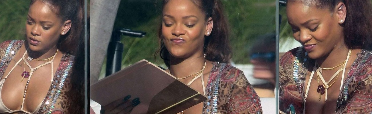 Rihanna is in Miami