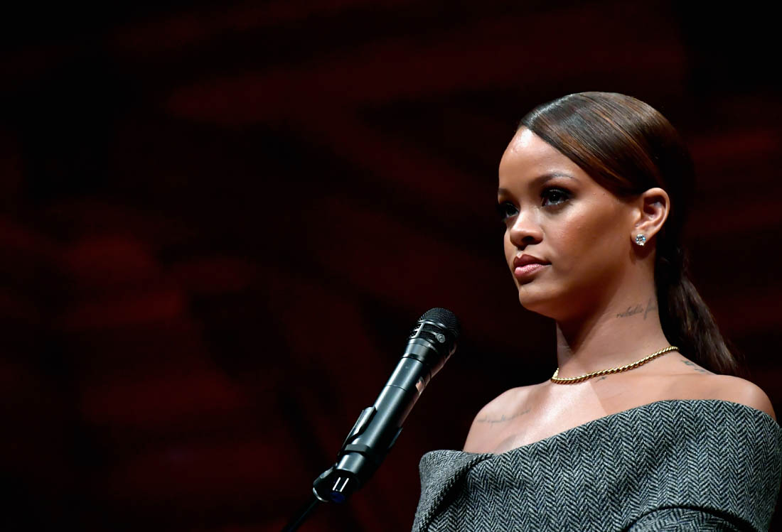 Rihanna receives Harvard Humanitarian of the Year award Speech