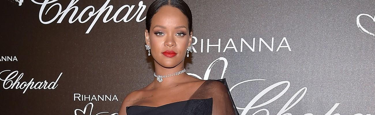 Rihanna attends Chopard dinner in Cannes