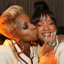 Rihanna at 2017 Met Gala after party 1OAK