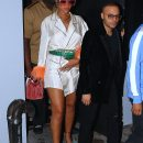 Rihanna at MET Ball after party at 1OAK in New York on May 1, 2017 candids