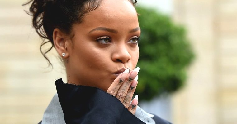 Rihanna meets Emmanuel Macron to discuss education