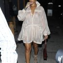 Rihanna steps out in Los Angeles July 12, 2017