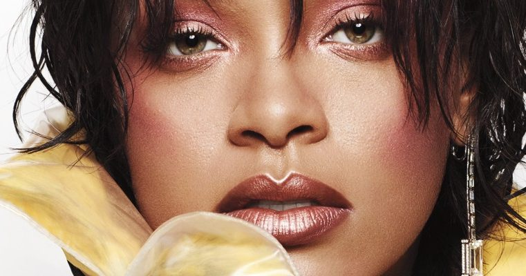 Rihanna answers beauty questions in Elle