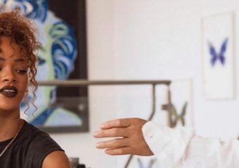 Rihanna collaborates with Manolo Blahnik