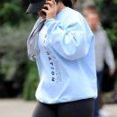 Rihanna hits the gym in New York on October 12, 2017 rihanna-fenty.com
