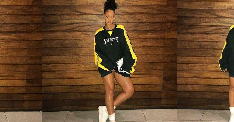 Rihanna models Fenty Puma on Instagram rihanna-fenty.com
